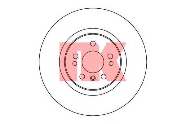 Диск тормозной NK 203392 комплект 2 шт203392