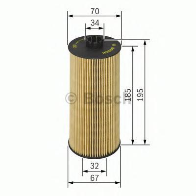 Фильтр масляный Bosch 1457429152