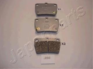 Колодки тормозные дисковые Japanparts PP256AFPP256AF