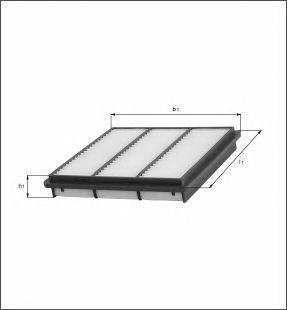 Фильтр воздушный Mahle/Knecht LX1700LX1700