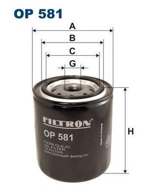 Фильтр масляный Filtron OP581OP581