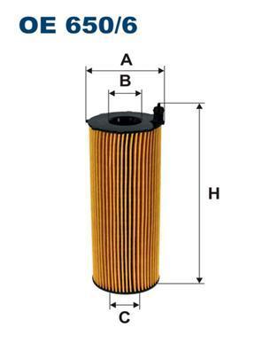 Фильтр масляный Filtron OE6506OE6506