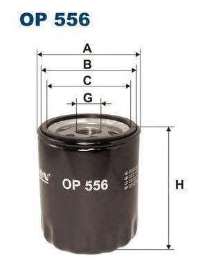 Фильтр масляный Filtron OP556OP556