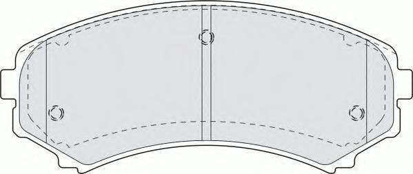 Колодки тормозные дисковые Premier Ferodo FDB1603FDB1603