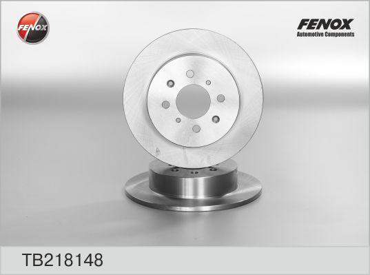 Диск тормозной Fenox TB218148TB218148