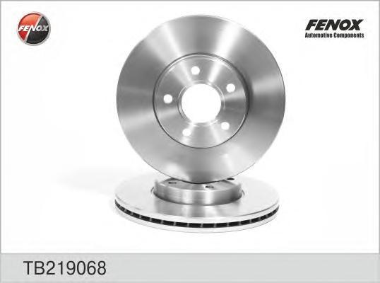Диск тормозной Fenox TB219068 комплект 2 штTB219068