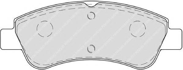 Колодки тормозные дисковые Premier Ferodo FDB4066FDB4066