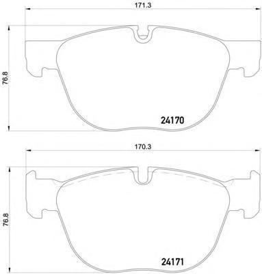 Колодки тормозные дисковые, комплект BEHR-HELLA 8DB3550125418DB355012541