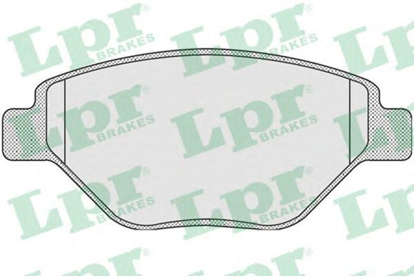Колодки тормозные LPR / AP 05P91005P910