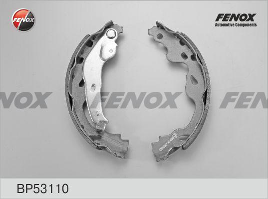 Колодки тормозные барабанные Fenox BP53110BP53110
