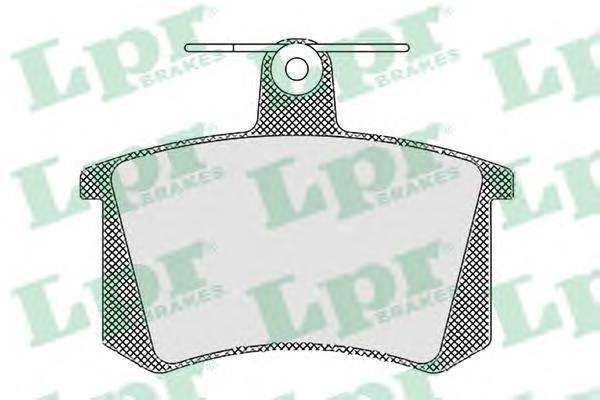 Колодки тормозные дисковые задние LPR / AP 05P44005P440