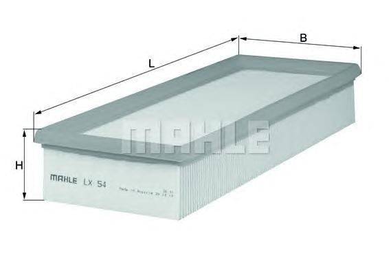 Фильтр воздушный Mahle/Knecht LX54LX54