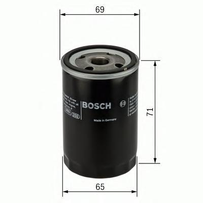 Фильтр масляный Bosch F026407001F026407001