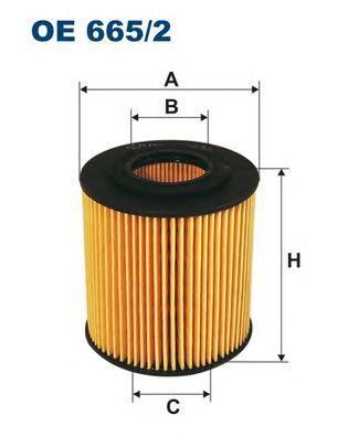 Фильтр масляный Filtron OE6652OE6652
