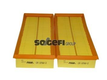 Фильтр воздушный Fram, 2 шт. CA87682CA87682