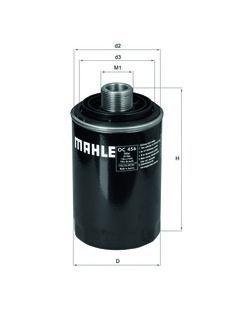 Фильтр масляный Mahle/Knecht OC456OC456