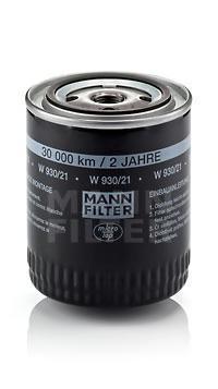Фильтр масляный Mann-Filter W93021  - купить со скидкой