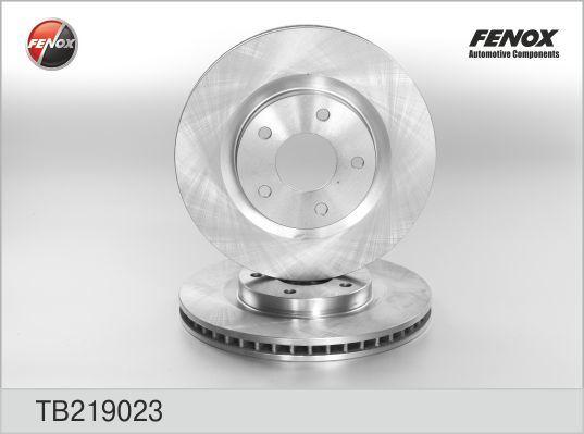 Диск тормозной Fenox TB219023 комплект 2 штTB219023