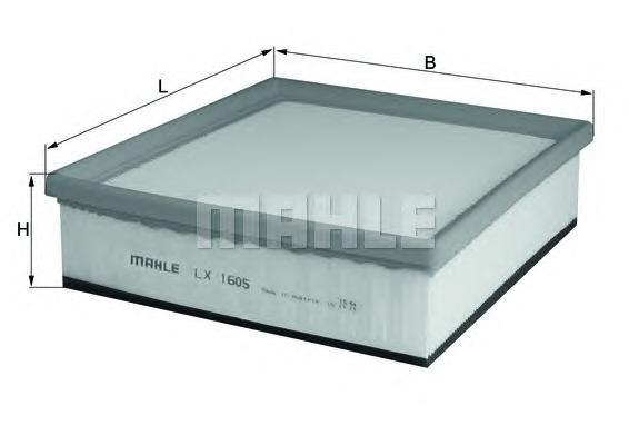 Фильтр воздушный Mahle/Knecht LX1605LX1605