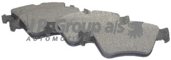 Group Колодки тормозные дисковые передний JP Group 13636009101363600910