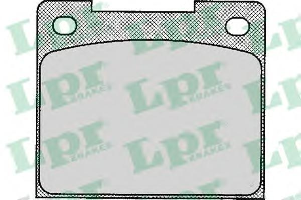 Колодки тормозные LPR / AP 05P11305P113