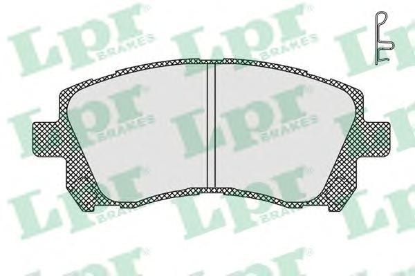 Колодки тормозные дисковые LPR / AP 05P71305P713