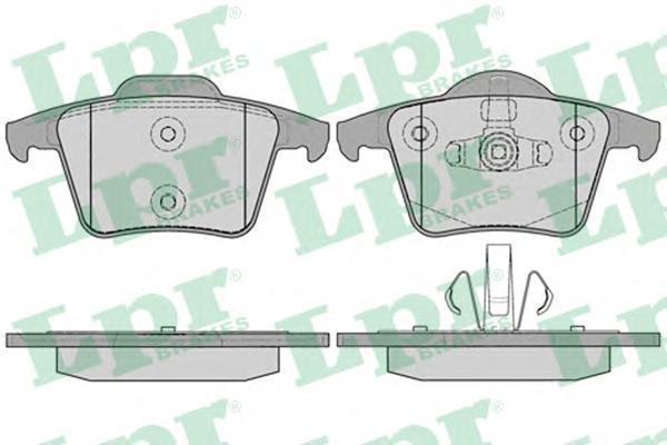 Колодки тормозные LPR / AP 05P123405P1234