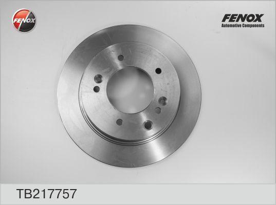 Диск тормозной Fenox TB217757 комплект 2 штTB217757