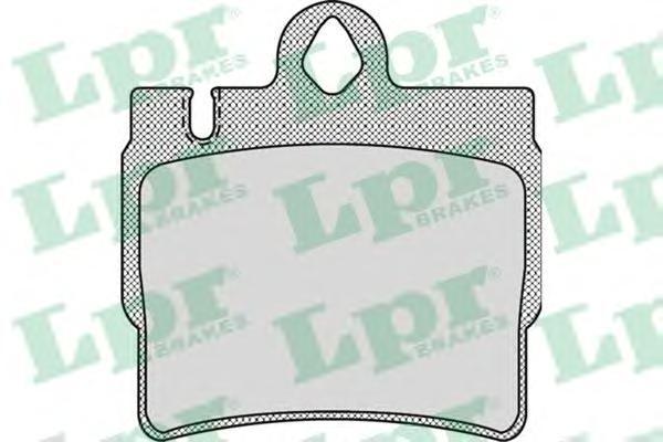 Колодки тормозные LPR / AP 05P90005P900