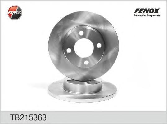 Диск тормозной Fenox TB215363 комплект 2 штTB215363