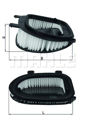Фильтр воздушный Mahle/Knecht LX3541LX3541