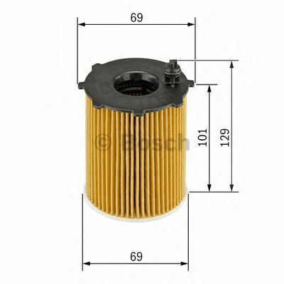Фильтр масляный Bosch F026407011F026407011