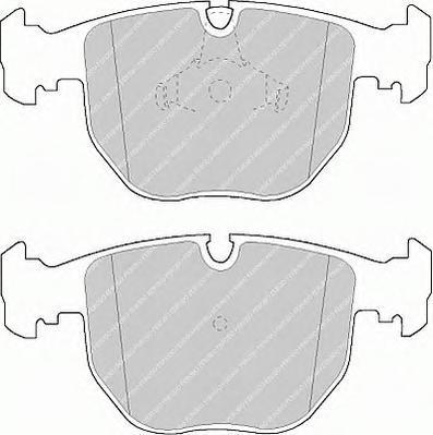 Колодки тормозные дисковые Premier Ferodo FDB997FDB997