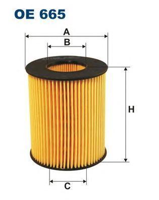 Фильтр масляный Filtron OE665OE665