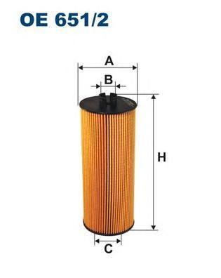 Фильтр масляный Filtron OE6512OE6512