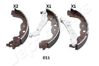Колодки тормозные барабанные комплектJapanparts GF015AFGF015AF