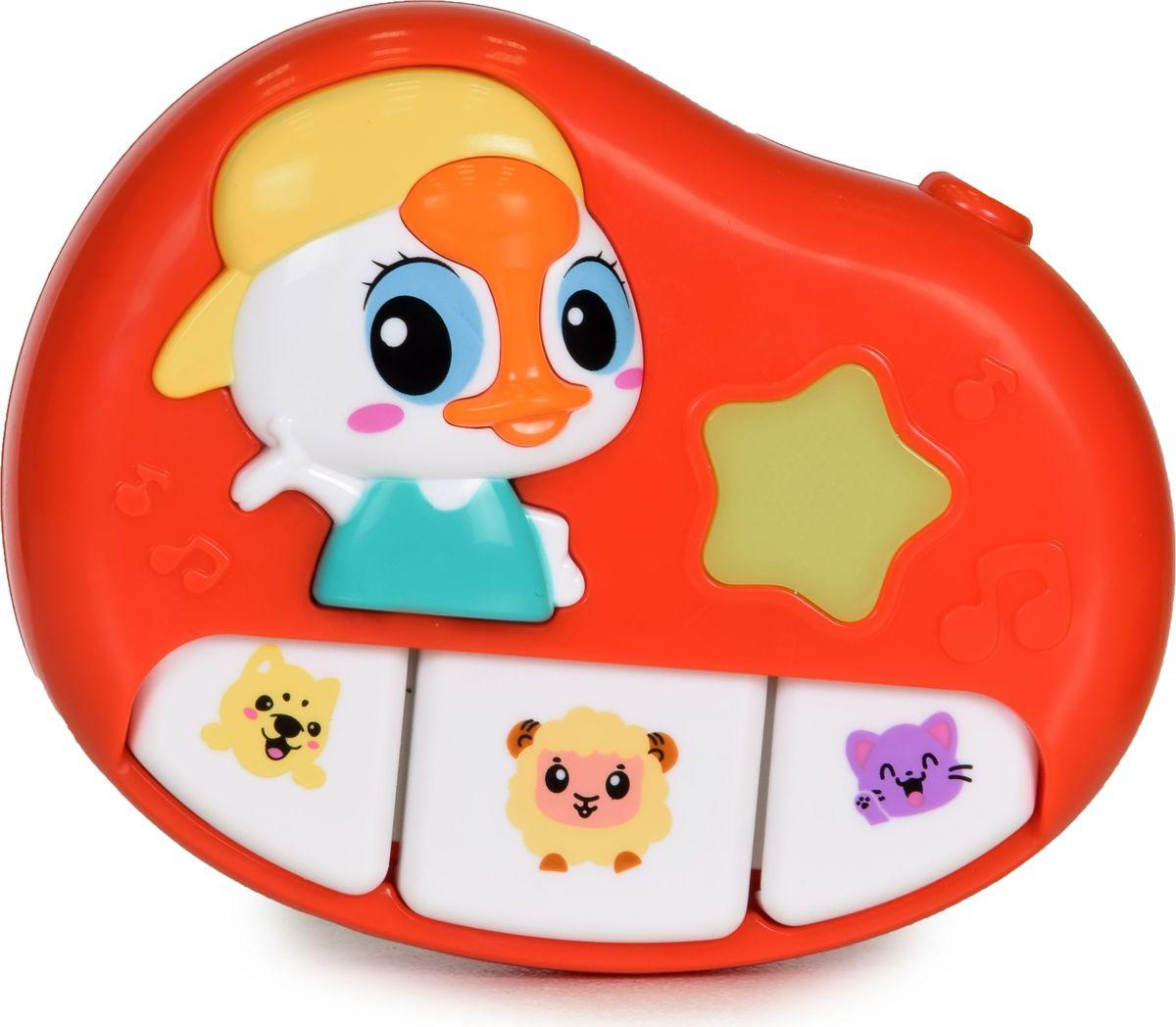 Baby Care Музыкальная подвеска Уточка