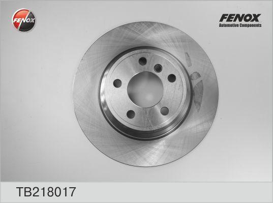 Диск тормозной Fenox TB218017TB218017