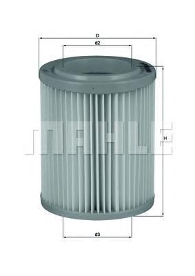 Фильтр воздушный Mahle/Knecht LX1768LX1768