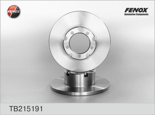 Диск тормозной Fenox TB215191 комплект 2 штTB215191