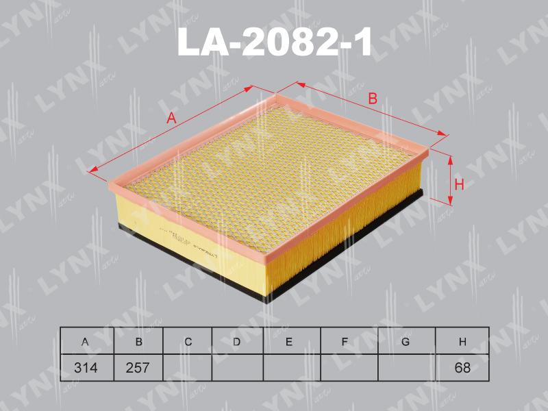 Фильтр воздушный Lynx LA20821LA20821