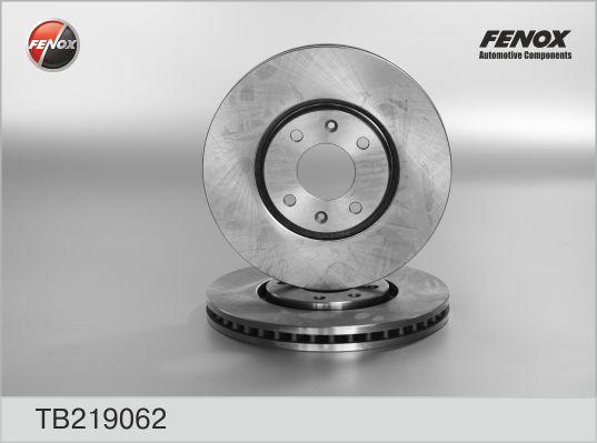 Диск тормозной Fenox TB219062 комплект 2 штTB219062