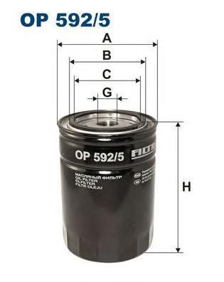 Фильтр масляный Filtron OP5925OP5925