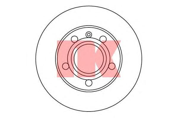 Диск тормозной NK 204778 комплект 2 шт204778