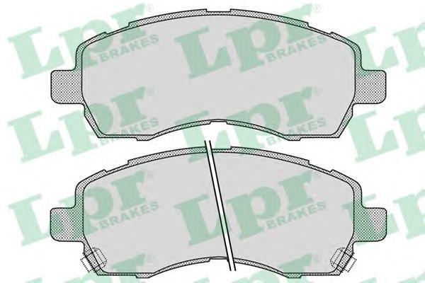 Колодки тормозные LPR / AP 05P102505P1025