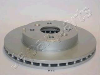 Диск тормозной Japanparts DIK16 комплект 2 штDIK16