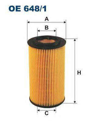 Масляный фильтр Filtron OE6481