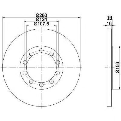 Диск тормозной Textar 92152000 комплект 2 шт92152000