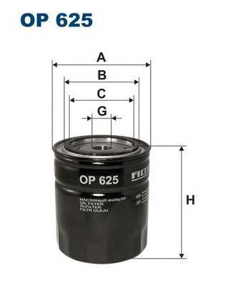 Фильтр масляный Filtron OP625OP625