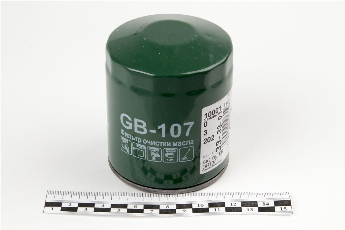 Фильтр масляный BIG FILTER GB107GB107
